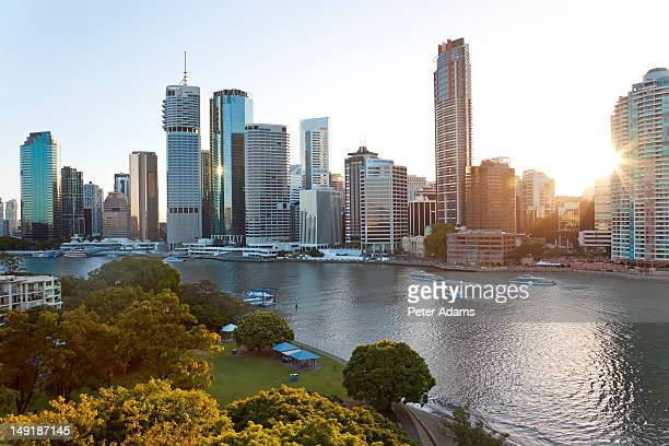 Brisbane Skyline, Queensland, Australia