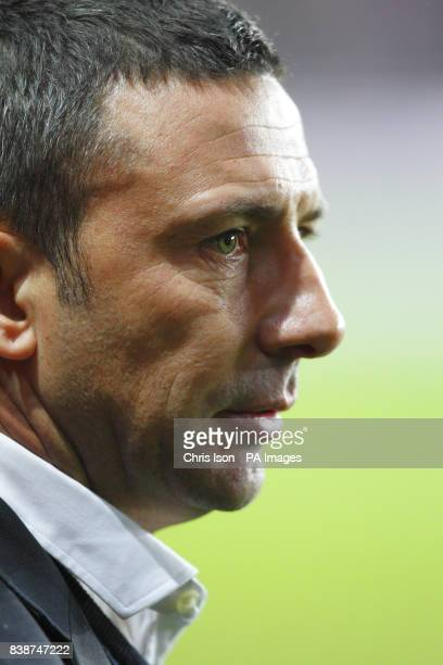 Bristol City FC Manager Derek McInnes before the npower Football League Championship match at St Mary's Southampton