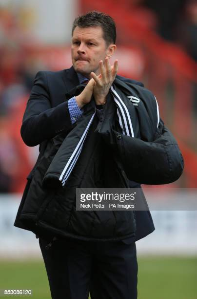 Bristol City Manager Steve Cotterill during the Sky Bet League One match at Ashton Gate Bristol