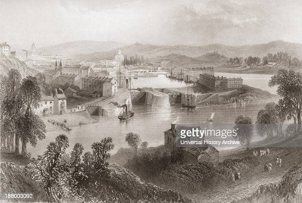 Bristol England In The Early 19Th Century From The History Of England Published 1859