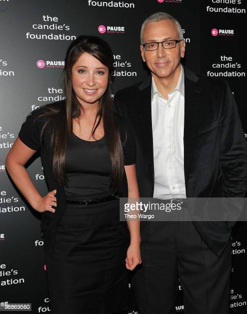 Bristol Palin and Dr Drew attend ' The Harsh Truth Teen Moms Tell All' Town Hall Meeting sposored by The Candie's Foundation at Lighthouse...