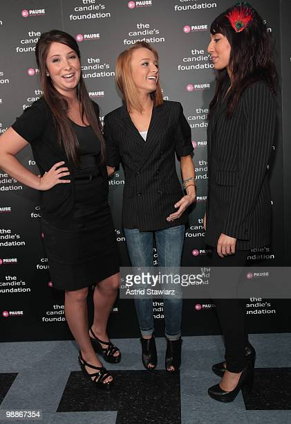 Bristol Palin and TV Personalities from MTV's 'Teen Mom' Maci Bookout and Farrah Abraham attend' The Harsh Truth Teen Moms Tell All' Town Hall...