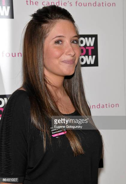 Bristol Palin attends The Candie's Foundation Town Hall Meeting on Teen Pregnancy Prevention at TheTimesCenter on May 6 2009 in New York City