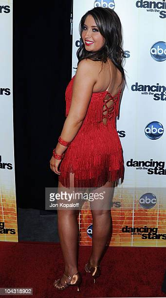 Bristol Palin poses at 'Dancing With The Stars' Season Premiere at CBS Studios on September 20 2010 in Los Angeles California