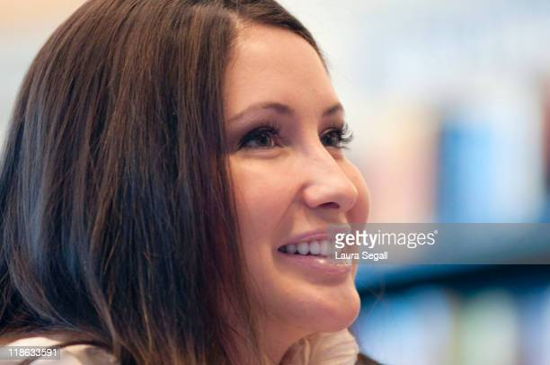PHOENIX AZ July 09 Bristol Palin signs copies of her book 'Not Afraid Of Life My Journey So Far' at Barnes Noble in Phoenix Arizona Saturday July 9...