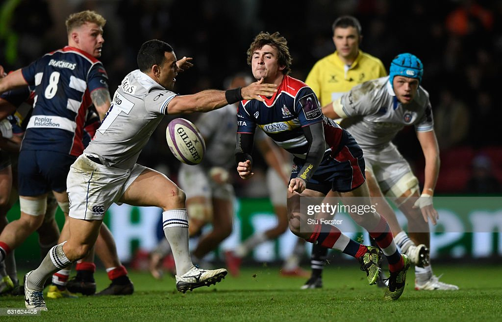 Bristol Rugby v Bath Rugby - European Rugby Challenge Cup