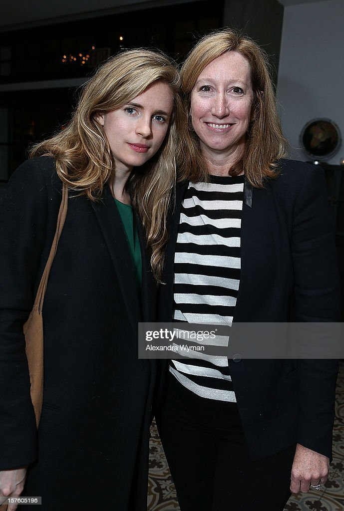 Brit Marley and Executive Director of The Sundance Institute <a gi-track='captionPersonalityLinkClicked' href=/galleries/search?phrase=Keri+Putnam&family=editorial&specificpeople=226879 ng-click='$event.stopPropagation()'>Keri Putnam</a> at The Sundance Film Festival Filmmaker Orientation reception held at The Palihouse Holloway on December 4, 2012 in West Hollywood, California.