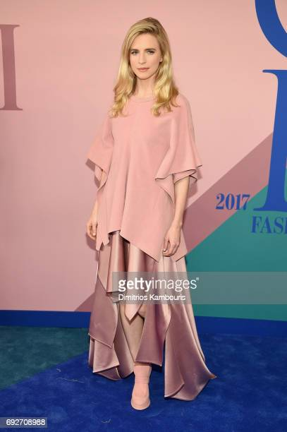 Brit Marling attends the 2017 CFDA Fashion Awards at Hammerstein Ballroom on June 5 2017 in New York City