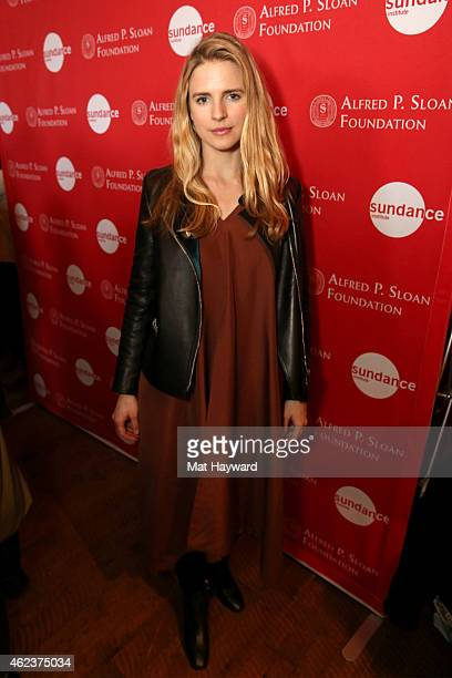 Brit Marling attends the Alfred P Sloan Foundation Dinner during the 2015 Sundance Film Festival on January 27 2015 in Park City Utah
