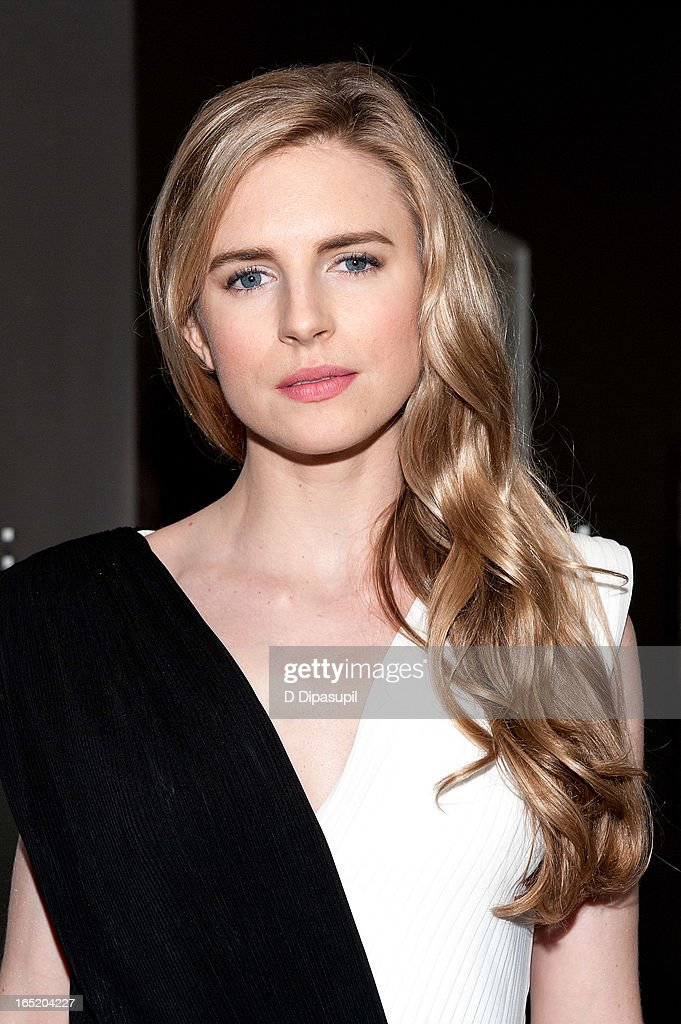 Brit Marling attends 'The Company You Keep' New York Premiere at The Museum of Modern Art on April 1, 2013 in New York City.