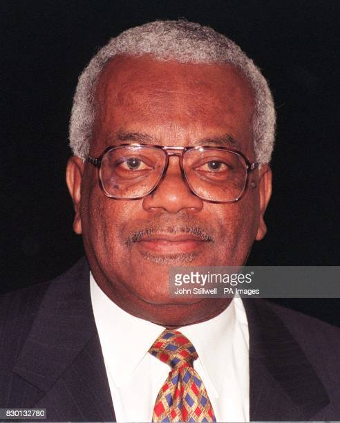 Britain' s favourite news reader Trevor McDonald at the LWT Studios London where he revealed a lifelong secret that his real name is George The News...
