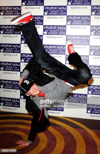 Britain' s got talent winner George Sampson at the Digital Spy Reality TV Awards at the Bloomsbury Ballroom in London