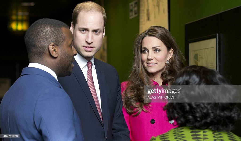 Britain's <a gi-track='captionPersonalityLinkClicked' href=/galleries/search?phrase=Catherine+-+Duchess+of+Cambridge&family=editorial&specificpeople=542588 ng-click='$event.stopPropagation()'>Catherine</a>, Duchess of Cambridge (2nd R) and Britain's <a gi-track='captionPersonalityLinkClicked' href=/galleries/search?phrase=Prince+William&family=editorial&specificpeople=178205 ng-click='$event.stopPropagation()'>Prince William</a>, Duke of Cambridge (2nd L), speak with Doreen Lawrence (R), Baroness Lawrence of Clarendon, and <a gi-track='captionPersonalityLinkClicked' href=/galleries/search?phrase=Stephen+Lawrence&family=editorial&specificpeople=2276544 ng-click='$event.stopPropagation()'>Stephen Lawrence</a>'s brother Stuart (L) during a visit the <a gi-track='captionPersonalityLinkClicked' href=/galleries/search?phrase=Stephen+Lawrence&family=editorial&specificpeople=2276544 ng-click='$event.stopPropagation()'>Stephen Lawrence</a> Centre on March 27, 2015 in London. The <a gi-track='captionPersonalityLinkClicked' href=/galleries/search?phrase=Stephen+Lawrence&family=editorial&specificpeople=2276544 ng-click='$event.stopPropagation()'>Stephen Lawrence</a> Centre in Deptford, designed by renowned architect David Adjaye, is home to the <a gi-track='captionPersonalityLinkClicked' href=/galleries/search?phrase=Stephen+Lawrence&family=editorial&specificpeople=2276544 ng-click='$event.stopPropagation()'>Stephen Lawrence</a> Charitable Trust and was set up in memory of Stephen. It was opened in 2008 as a centre of excellence for architecture and design and the wider built environment. AFP PHOTO / ALASTAIR GRANT / POOL