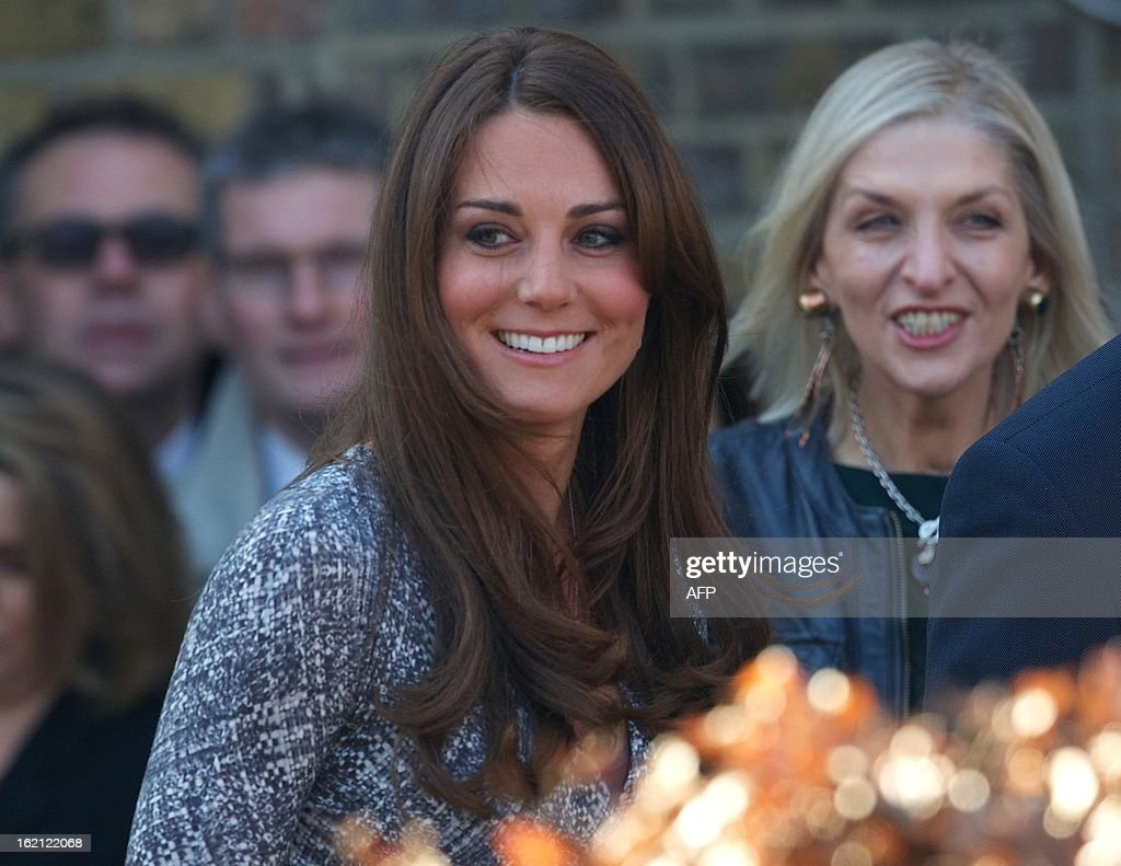Britain's Catherine, Duchess of Cambridge, arrives at the Hope House charity in south London on February 19, 2013. British novelist Hilary Mantel faced criticism after describing Prince William's wife Catherine as a 'shop window mannequin' with a 'plastic smile' whose only purpose is to breed.