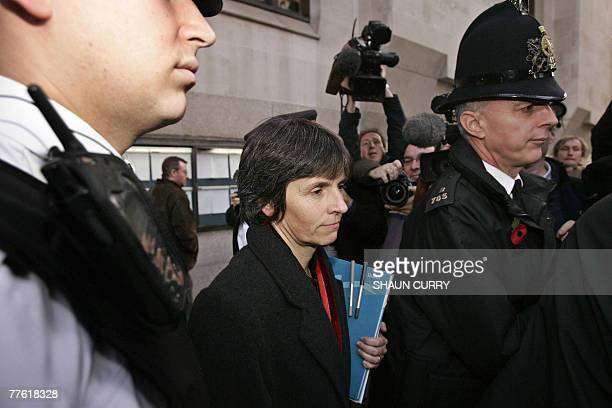 Britain's Deputy Assistant Commissioner Cressida Dick leaves the Old Bailey Court in central London 01 November 2007 London's Metropolitan Police...