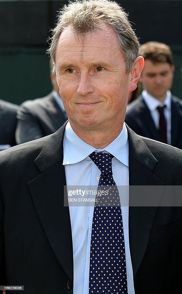 Britain's Deputy Commons Speaker, <a gi-track='captionPersonalityLinkClicked' href=/galleries/search?phrase=Nigel+Evans&family=editorial&specificpeople=2486752 ng-click='$event.stopPropagation()'>Nigel Evans</a>, leaves after addressing the media outside the Houses of Parliament in central London, on May 7, 2013. Evans said Sunday that allegations of raping one man and sexually assaulting another were 'completely false', adding that he had previously regarded both men as friends. <a gi-track='captionPersonalityLinkClicked' href=/galleries/search?phrase=Nigel+Evans&family=editorial&specificpeople=2486752 ng-click='$event.stopPropagation()'>Nigel Evans</a>, 55, a lawmaker in Prime Minister David Cameron's Conservative Party, issued the denial a day after he was questioned over the alleged attacks on two men in their twenties.
