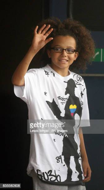 Britain's Got Talent 2009 winning dance member Perri Luc Kiely from Diversity outside the Birmingham National Indoor Arena before the first show of...