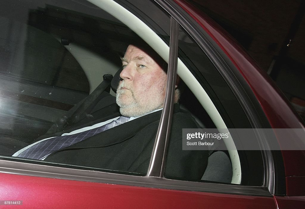 Britain's Home Secretary Charles Clarke leaves the Home Office on May 2, 2006 in London, England. Clarke is facing increasing pressure to resign after it was revealed foreign criminals who had been recommended for deportation had remained in the UK.