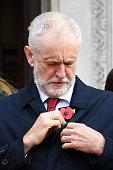 GBR: Labour Leader Corbyn Attends Armistice Day Commemoration