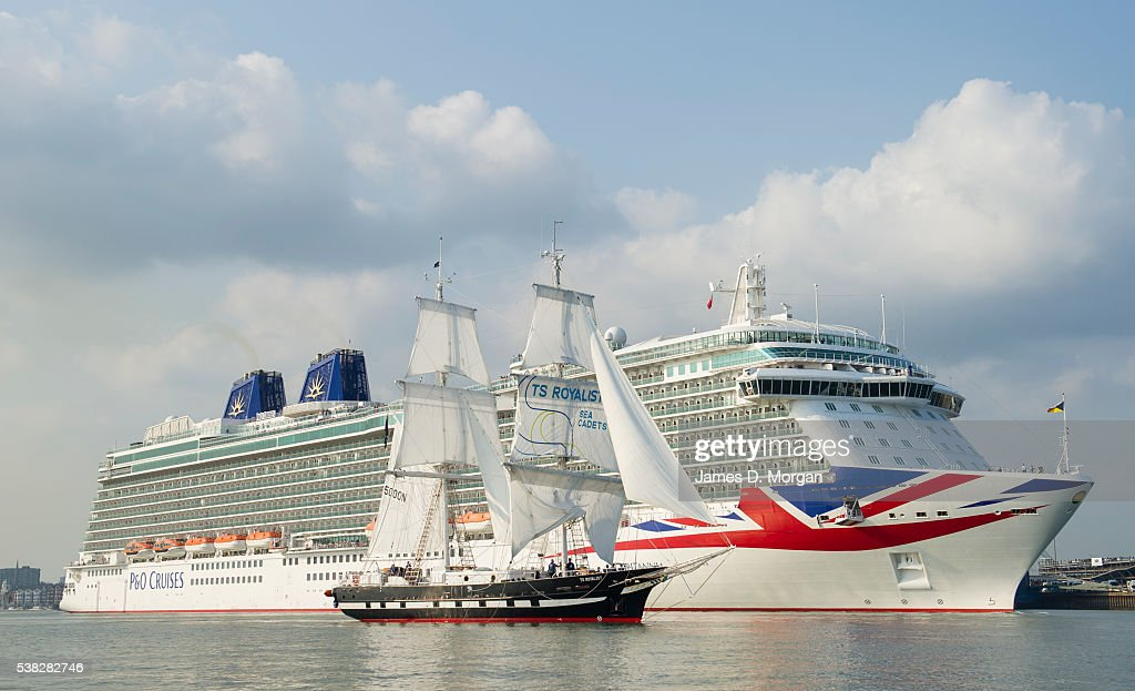 PampO Cruises And Sea Cadets Celebrate Partnership  Getty Images