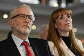 GBR: Angela Rayner And Jeremy Corbyn Make Education Speeches