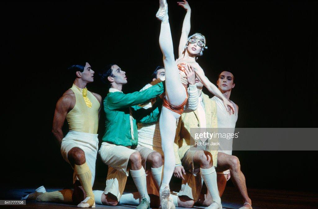 Britain's major ballet company, The Royal Ballet, dance their production of La Fin du Jour.