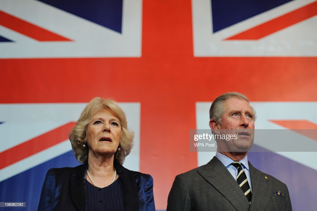 Britain's Prince Charles, Prince of Wales (R) and Camilla, The Duchess of Cornwall (L) attend Australia Day celebrations at Australia House on January 26, 2011 in London, England. Australia Day is the official national day of Australia. It is celebrated with a public holiday for all the States and Territories on the 26th January.
