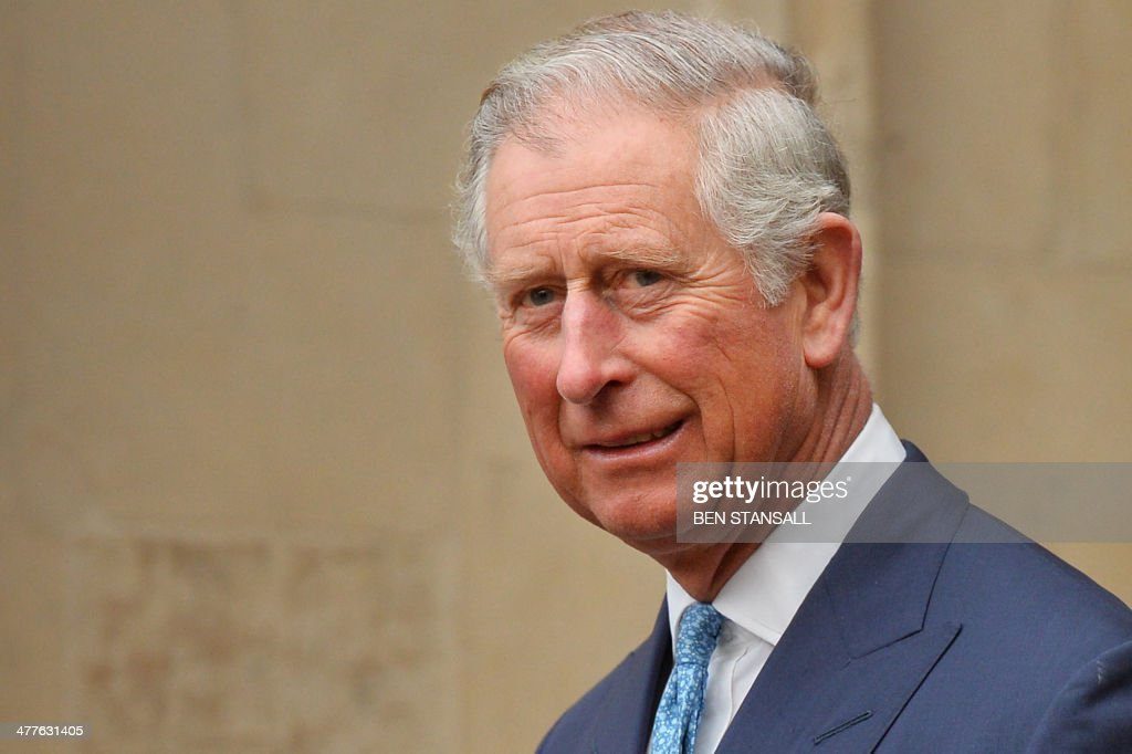 Britain's Prince Charles Prince of Wales leaves following the annual Commonwealth Observance service at Westminster Abbey in central London on March...