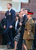 Britain's Prince Harry Britain's Prince William and his wife Catherine attend the commemoration of the 100th anniversary of the Battle of the Somme...