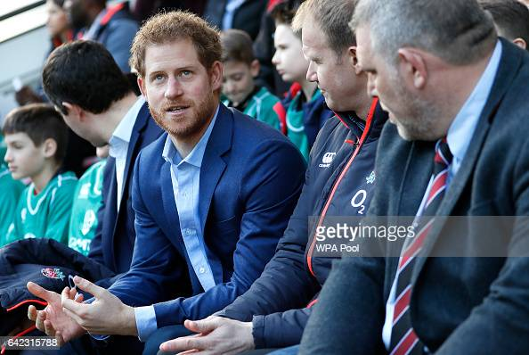 britains-prince-harry-speaks-with-people-from-the-kids-first-didcot-picture-id642315788
