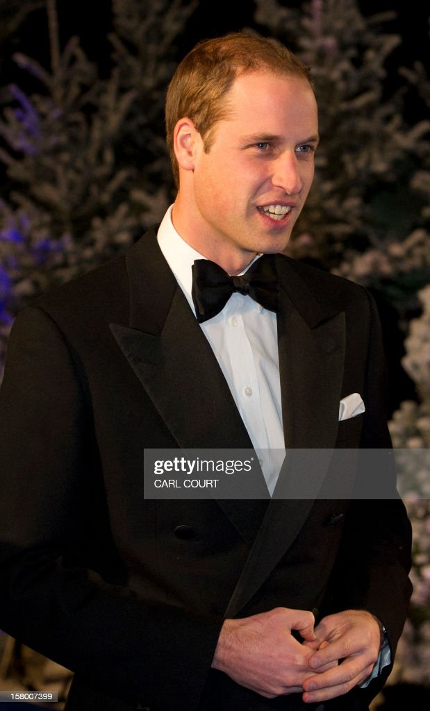 Britain's Prince William, Duke of Cambridge, arrives at the Winter Whites Gala in aid of the Centrepoint charity at the Royal Albert Hall in central London on December 8, 2012. The Prince attended the gala in aid of the charity of which he is patron. The London hospital that treated Prince William's pregnant wife Catherine and where a nurse was found dead after being hoaxed by an Australian radio show on Saturday wrote to the station condemning the 'truly appalling' stunt.