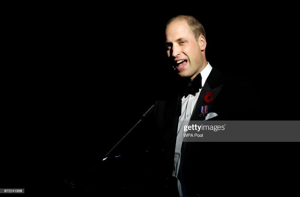 The Duke Of Cambridge Attends The City Veterans Network Gala Dinner