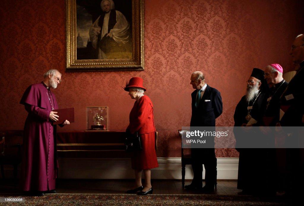 Queen Elizabeth II And The Duke Of Edinburgh Attend A Diamond Jubilee Multi-faith Reception