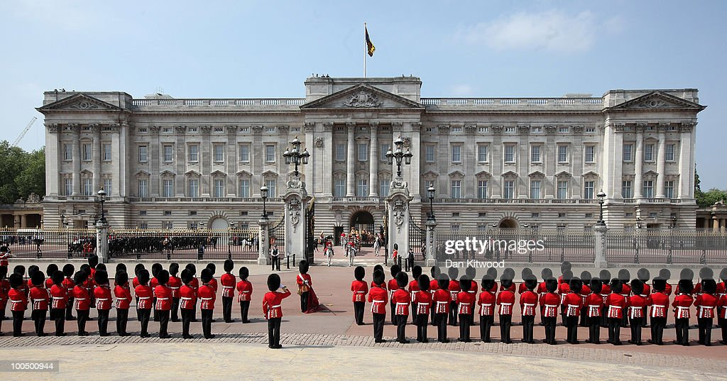 Britain's Queen <a gi-track='captionPersonalityLinkClicked' href=/galleries/search?phrase=Elizabeth+II&family=editorial&specificpeople=67226 ng-click='$event.stopPropagation()'>Elizabeth II</a> leaves Buckingham Palace in central London to address Parliament at the official State Opening of Parliament ceremony at Westminster on May 25, 2010 in London, England. Queen <a gi-track='captionPersonalityLinkClicked' href=/galleries/search?phrase=Elizabeth+II&family=editorial&specificpeople=67226 ng-click='$event.stopPropagation()'>Elizabeth II</a> will unveil the new coalition government's legislative programme in a speech delivered to members of Parliament and Peers in The House of Lords. Laws expected to be introduced in the coming Parliamentary year are thought to include new voting reforms, repeal of identity card legislation and new powers for parents to start their own schools.