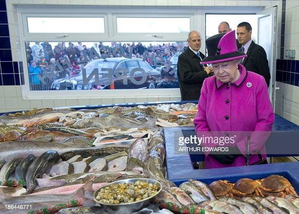 Newhaven fish market stock photos and pictures getty images for Fish market queens