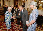 Britain's Queen Elizabeth II shakes hands with New Zealand's GovernorGeneral Jerry Mateparae during a reception ahead of the Governor General's lunch...