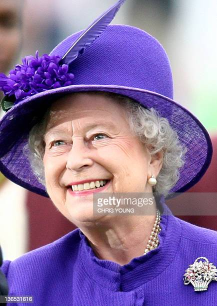 Britain's Queen Elizabeth II visits Lords Cricket Ground in London 17 May 2007 Queen Elizabeth II was set Thursday 20 December 2007 to become the...