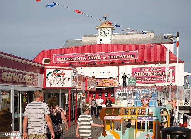 Britannia Pier and theatre Great Yarmouth Norfolk England