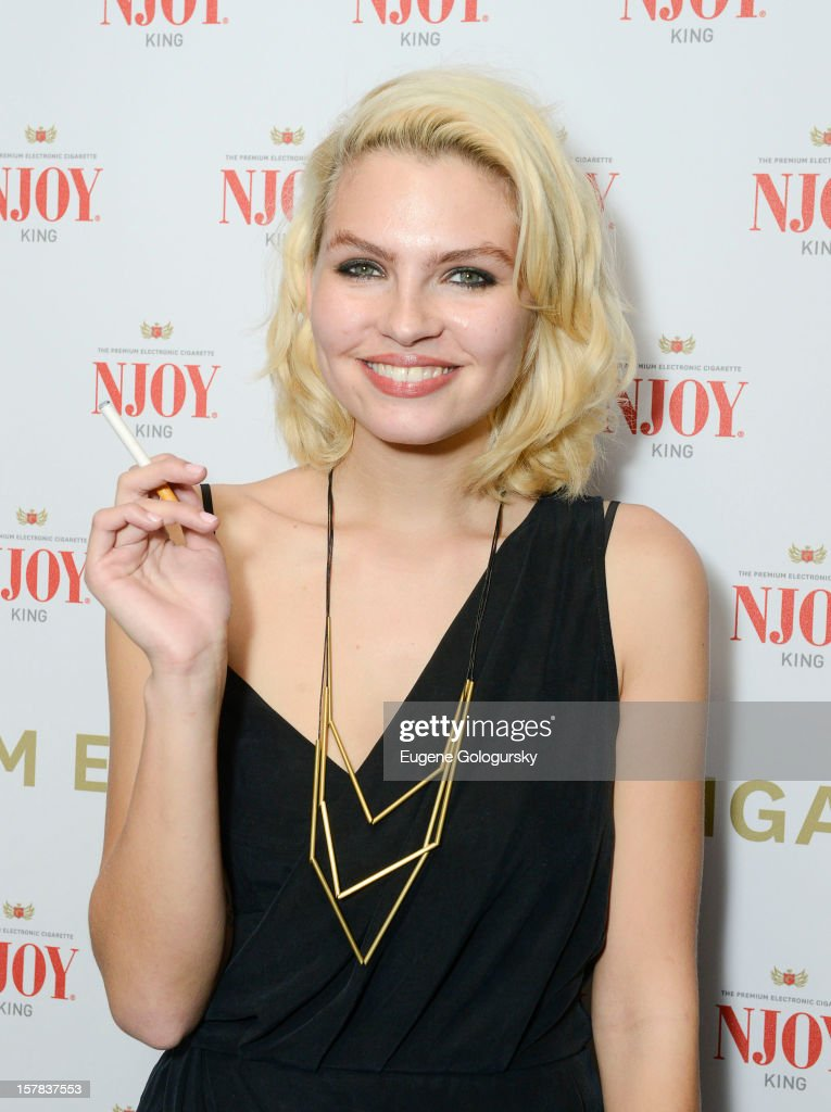 Britany Nola attends the NJOY King Launch at The Jane Hotel on December 6, 2012 in New York City.