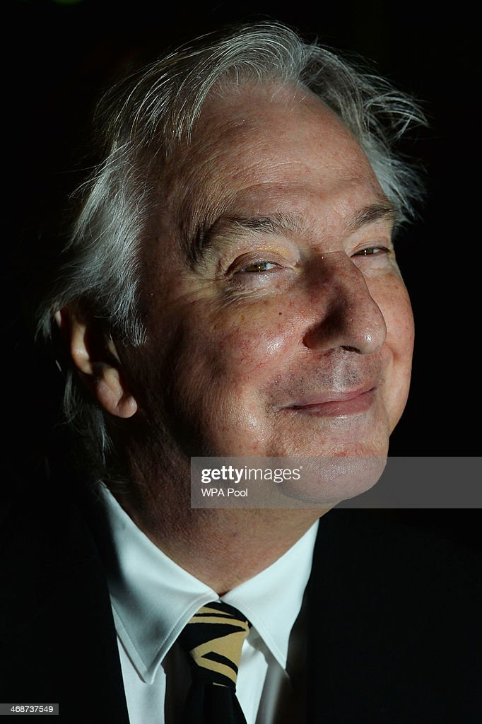 British actor Alan Rickman attends The Portrait Gala 2014: Collecting To Inspire at National Portrait Gallery on February 11, 2014 in London, England.
