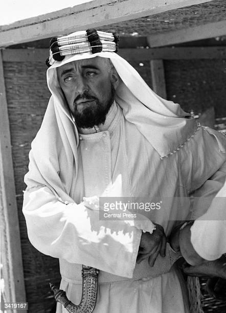 British actor Alec Guinness as Prince Feisal in David Lean's film 'Lawrence of Arabia'
