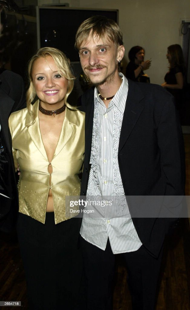 British actor and actress <a gi-track='captionPersonalityLinkClicked' href=/galleries/search?phrase=Lucy+Davis+-+English+Actress&family=editorial&specificpeople=218170 ng-click='$event.stopPropagation()'>Lucy Davis</a> and Mackenzie Crook attend the British Comedy Awards 2002 held at the LWT Recording Studios on December 14, 2002 in London.