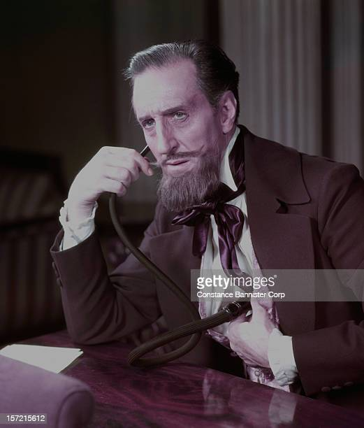 British actor Basil Rathbone as Dr Austin Sloper in 'The Heiress' at the Biltmore Theatre in New York City 29th September 1947 In 1948 he received a...