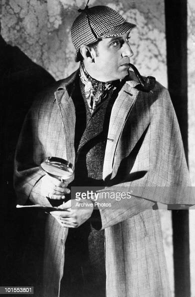 British actor Basil Rathbone as fictional detective Sherlock Holmes circa 1939