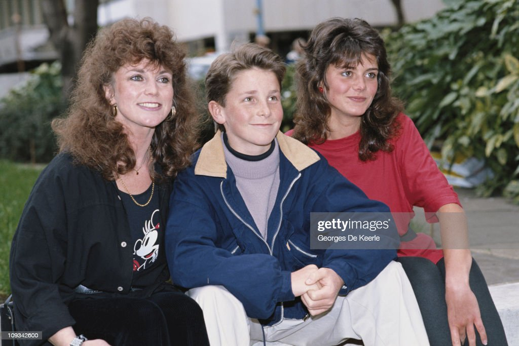 British actor Christian Bale the star of the Steven Spielberg film 'Empire of the Sun' attend's the film's premiere UK 20th March 1988 He is...