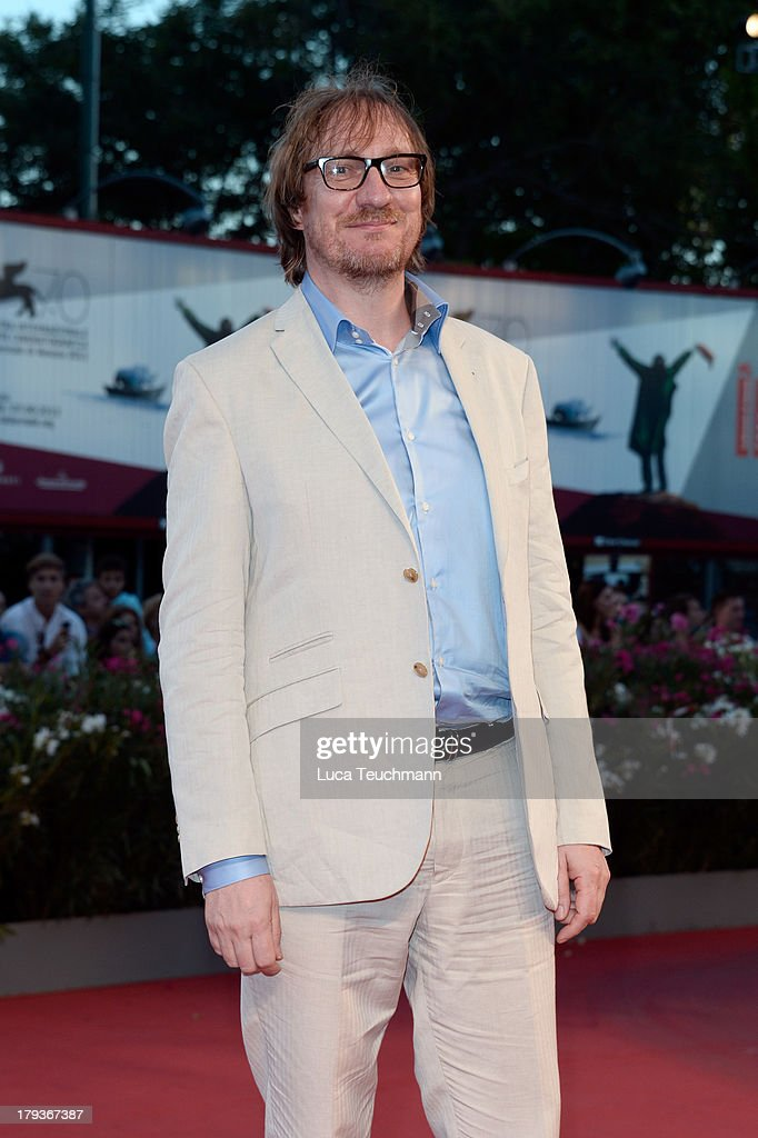 British actor David Thewlis attends the 'The Zero Theorem' Premiere during the 70th Venice International Film Festival at Sala Grande on September 2...