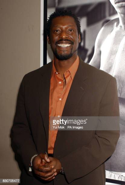 British actor Eamonn Walker attending the premiere of his new film 'Once in the Life' the directorial debut of American actor Laurence Fishburne...