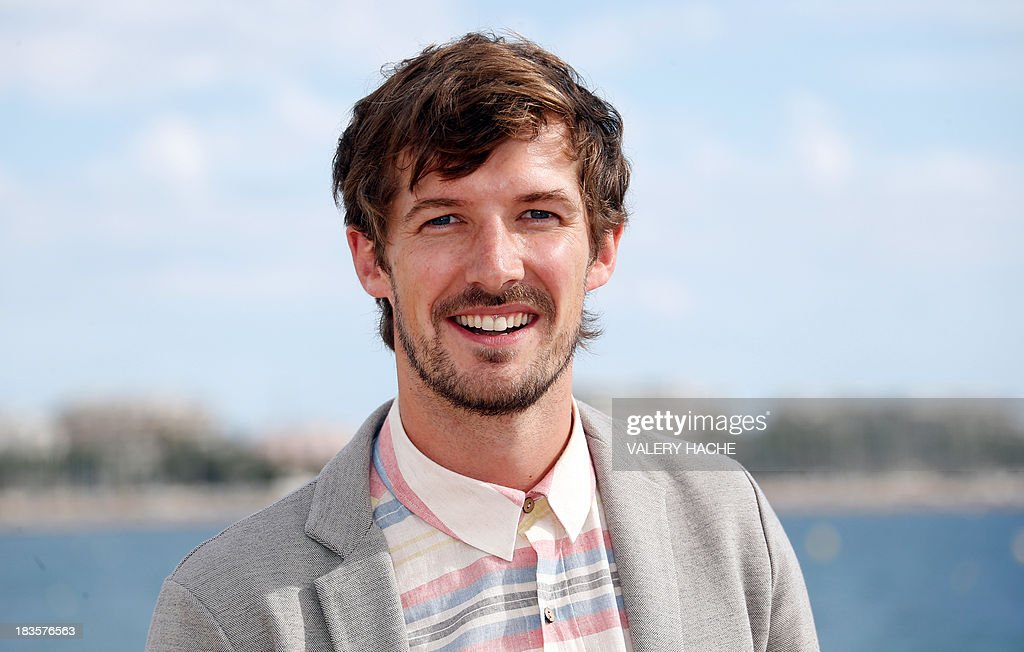 British actor Gwilym Lee poses during a photocall for the TV series 'Midsomer murders' as part of the Mipcom international audiovisual trade show at the Palais des Festivals, in Cannes, southeastern France, on October 7, 2013.