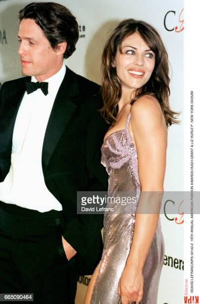 British actor Hugh Grant and actress Liz Hurley