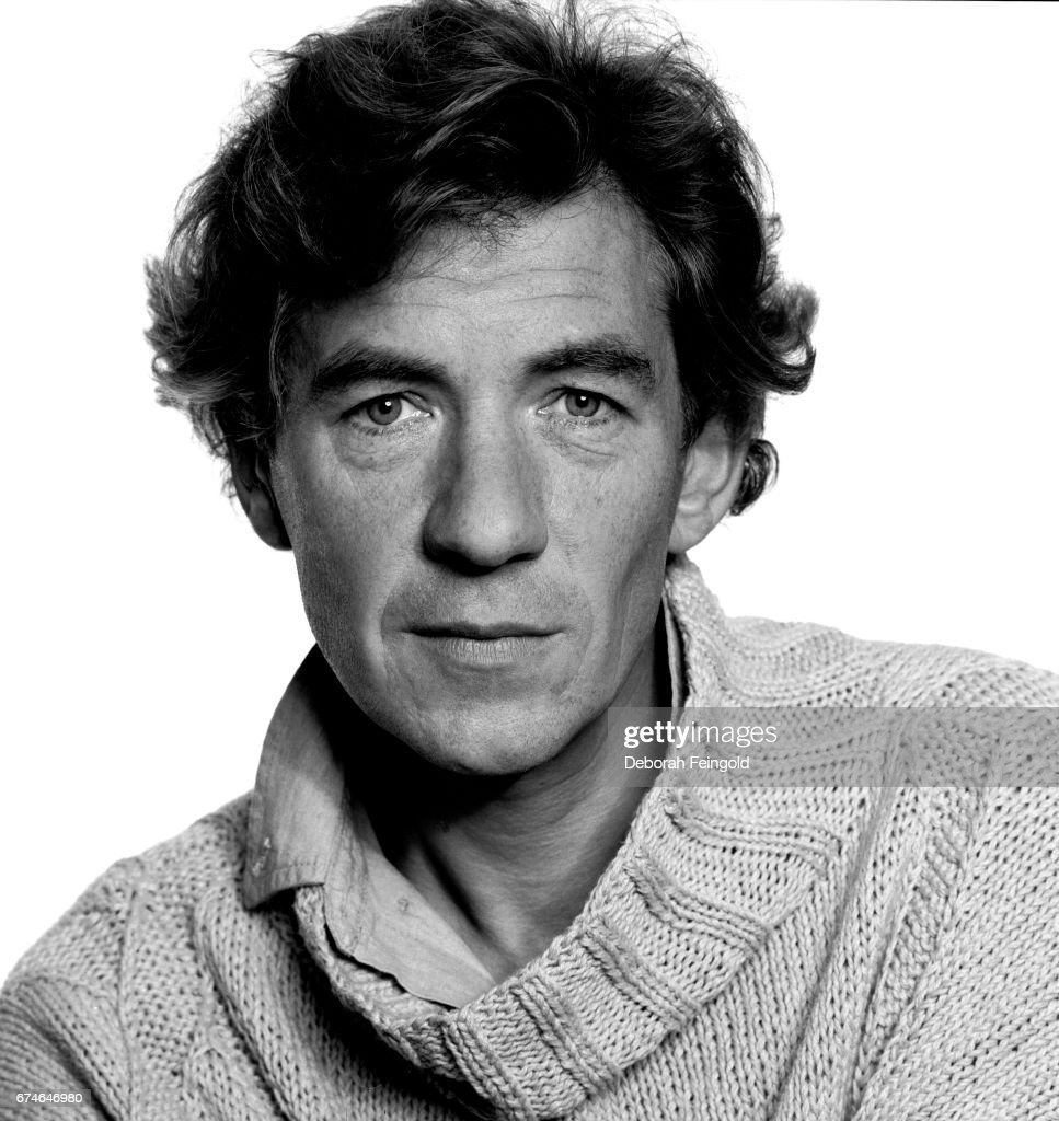 British actor Ian McKellen poses for a portrait in 1985 in New York City, New York.